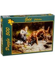 Puzzle Gold Puzzle de 500 piese - Petrecere de seara
