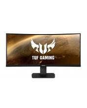 """Monitor gaming Asus TUF - VG35VQ, 35"""", 4K UHD, VA Curved, 100 Hz, FreeSync, negru -1"""