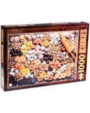 Puzzle D-Toys de 1000 piese - Postere vintage, Fursecuri
