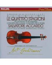 Vivaldi: The Four Seasons; Concertos for 3 & 4 violins (CD)