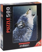 Puzzle Anatolian de 500 piese - Urlet, Daniel Smith