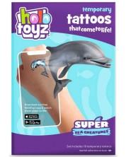 Tatuaje temporare HoloToyz Augmented Reality - Creaturi marine