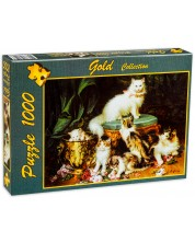 Puzzle Gold Puzzle de 1000 piese - Timpul de joaca