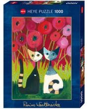 Puzzle Heye de 1000 piese - Adapost de maci, Rosina Wachtmeister