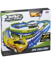 Pista Wave Racers - Epic Challenge, cu masina cu senzor de miscare -1