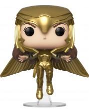 Figurina Funko POP! Heroes: Wonder Woman 1984 - Wonder Woman Golden Armor (Flying), #324
