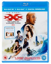 XXX: Return of Xander Cage 2D+3D (Blu-Ray)