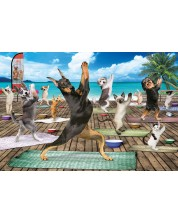 Puzzle Eurographics de 500 piese XL - Yoga Spa