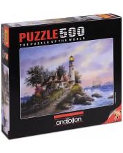 Puzzle Anatolian de 500 piese - Golful Capitanului, Dennis Lewan