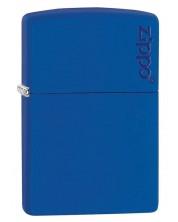 Bricheta Zippo Royal Blue Matte, albastra -1