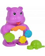 Jucarie pentru baie Simba Toys - ABC, hipopotam -1