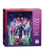 Puzzle de colectie USAopoly de 550 piese - The Legend Of Zelda: Majoras mask incarnation