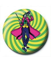 Insigna Pyramid DC Comics: Batman - The Joker (Swirl)