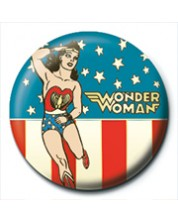 Insigna Pyramid -  Wonder Woman (Stars and Stripes)