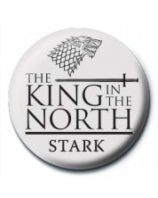 Insigna Pyramid -  Game of Thrones (King in the North)
