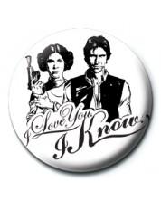 Insigna Pyramid -  Star Wars (I Love You)