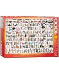 Puzzle Eurographics de 1000 piese – Lumea pisicilor - 1t