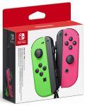 Nintendo Switch Joy-Con (set controllere) - verde/roz - 1t