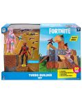 Set figurine Jazwares Fortnite - Turbo Builder Set, cu 2 figurine Rabbit Raider si Vertex, 89 piese - 1t
