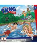 TKKG Junior - 002/Vorsicht: Bissig! - (CD) - 1t