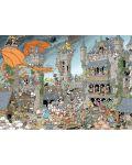 Puzzle Jumbo de 1000 piese - Bucati de istorie - Castelul Derks - 2t