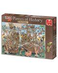 Puzzle Jumbo de 1000 piese - Bucati de istorie - Pirati, Derks - 1t