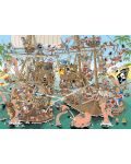 Puzzle Jumbo de 1000 piese - Bucati de istorie - Pirati, Derks - 2t