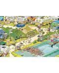 Puzzle Jumbo de 300 piese - Haos in camping , Jan Van Haasteren - 2t