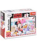 Mini puzzle Trefl de 54 piese - Minnie Mouse si Daizy - 1t