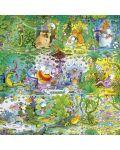 Puzzle patrat Heye de 1000 piese - Viata salbatica, Guillermo Mordillo - 2t