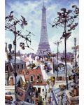 Puzzle Heye de 1000 piese - Turnul Eiffel, Jean-Jacques Loup - 2t
