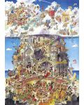 Puzzle Heye de 1500 piese - Iad si rai, Hugo Prades - 2t