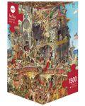 Puzzle Heye de 1500 piese - Iad si rai, Hugo Prades - 1t