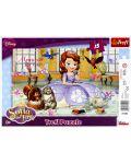 Puzzle Trefl de 15 piese - Party ceaiul Sofiei  - 1t