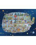 Puzzle Heye de 1500 piese - Nava spatiala, Matthias Adolfson - 2t