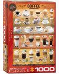 Puzzle Eurographics de 1000 piese – Cafea - 1t