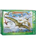 Puzzle Eurographics de 1000 piese – Pterozauri - 1t