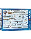 Puzzle Eurographics de 1000 piese – History of Aviation - 1t