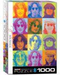 Puzzle Eurographics de 1000 piese – Portretul lui John Lennon - 1t