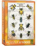 Puzzle Eurographics de 1000 piese – Lumea albinelor - 1t