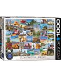 Puzzle Eurographics de 1000 piese – Calatorie in Mexic - 1t