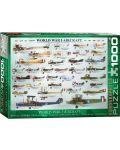 Puzzle Eurographics de 1000 piese –Avioane militare din Primul razboi mondial - 1t