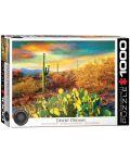 Puzzle Eurographics de 1000 piese – Culori in desert - 1t