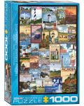 Puzzle Eurographics de 1000 piese – Faruri - 1t