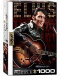 Puzzle Eurographics de 1000 piese – Portretul lui Elvis Presley - 1t