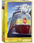 Puzzle Eurographics de 1000 piese – Canadian Pacific, Locomotiva diesel  - 1t