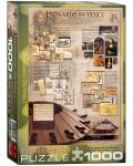 Puzzle Eurographics de 1000 piese – Geniul lui Leonardo da Vinci - 1t