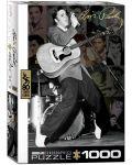 Puzzle Eurographics de 1000 piese – Colaj cu pozele lui Elvis Presley - 1t