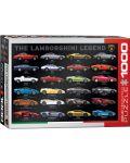 Puzzle Eurographics de 1000 piese – Legenda Lamborghini - 1t