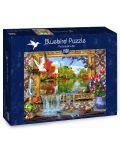 Puzzle Bluebird de 1500 piese - Poza vietii - 1t